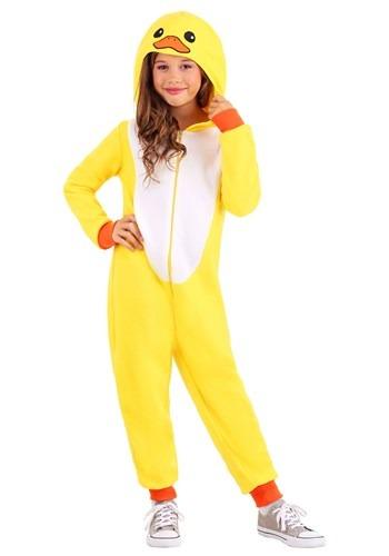 Child Yellow Duck Onesie