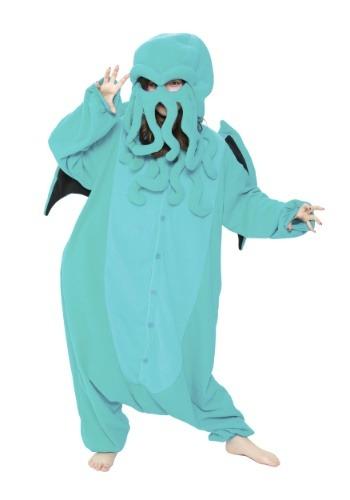 Adult Cthulhu Kigurumi Costume1