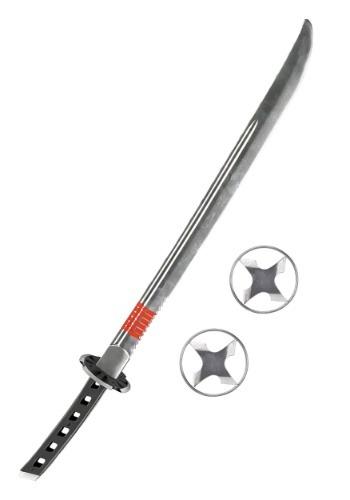 Snake Eyes Sword w/Ninja Stars