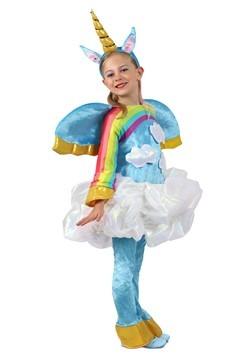 Girls unicorn in the Clouds Candy Catcher Costume