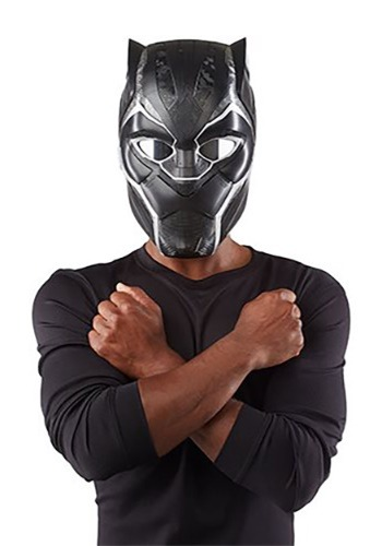 Click Here to buy Marvel Legends Series Black Panther Electronic Helmet for Adults from HalloweenCostumes, CDN Funds
