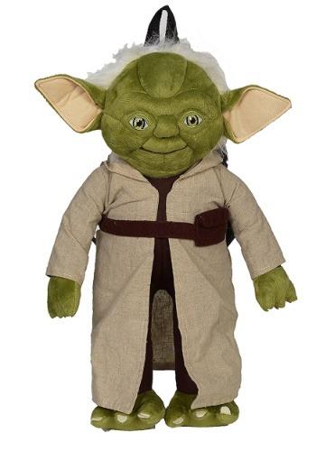 "Star Wars 16"" Yoda Stuffed Figure Backpack"