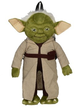 "Star Wars 16"" Yoda Stuffed Figure Backpack"