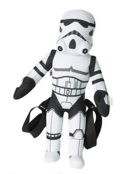 Star Wars Stormtrooper Stuffed Figure Backpack