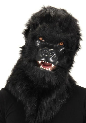 Click Here to buy Gorilla Mouth Mover Mask from HalloweenCostumes, CDN Funds