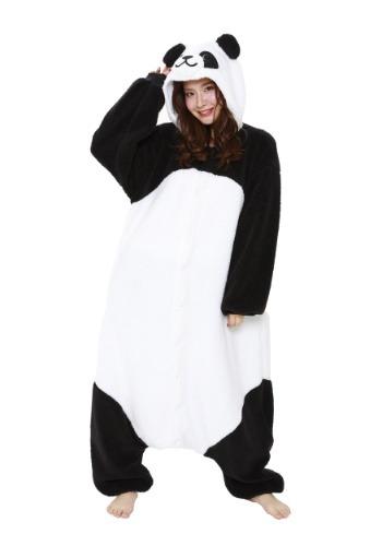 Fluffy Panda Kigurumi1