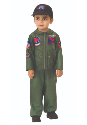 Top Gun Romper for Toddlers Halloween Costume