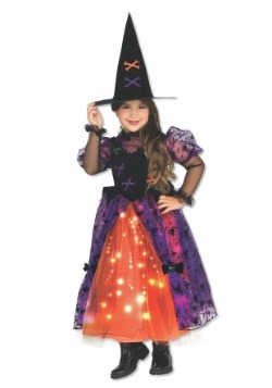 Sparkle Witch Girl's Costume