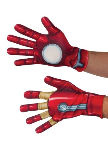 Click Here to buy Iron Man Adult Gloves from HalloweenCostumes, CDN Funds