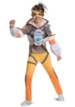 Overwatch Tracer Deluxe Girls Costume