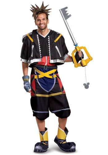 Click Here to buy Deluxe Kingdom Hearts Sora Mens Costume from HalloweenCostumes, CDN Funds