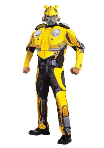 Adult Bumblebee Movie Muscle Costume