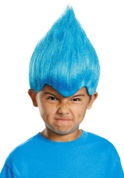 Child Blue Wacky Wig