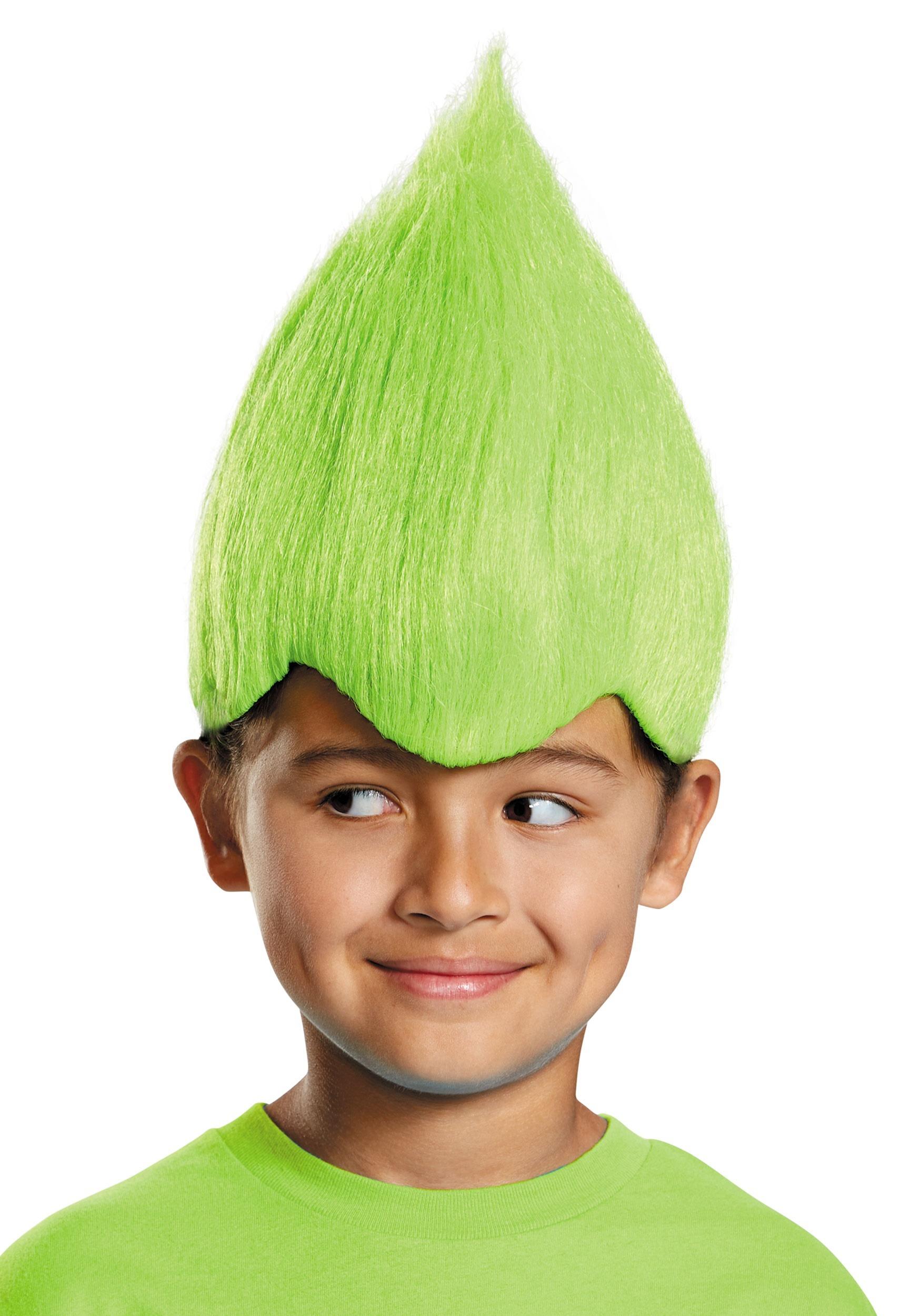 Green Wacky Wig for Kids 662b1b5665d5