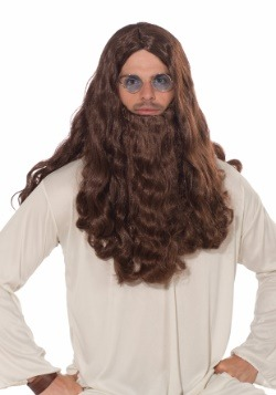 Guru-vy Long Hair Wig and Beard