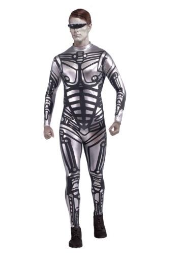 Mens Robot Jumpsuit Costume