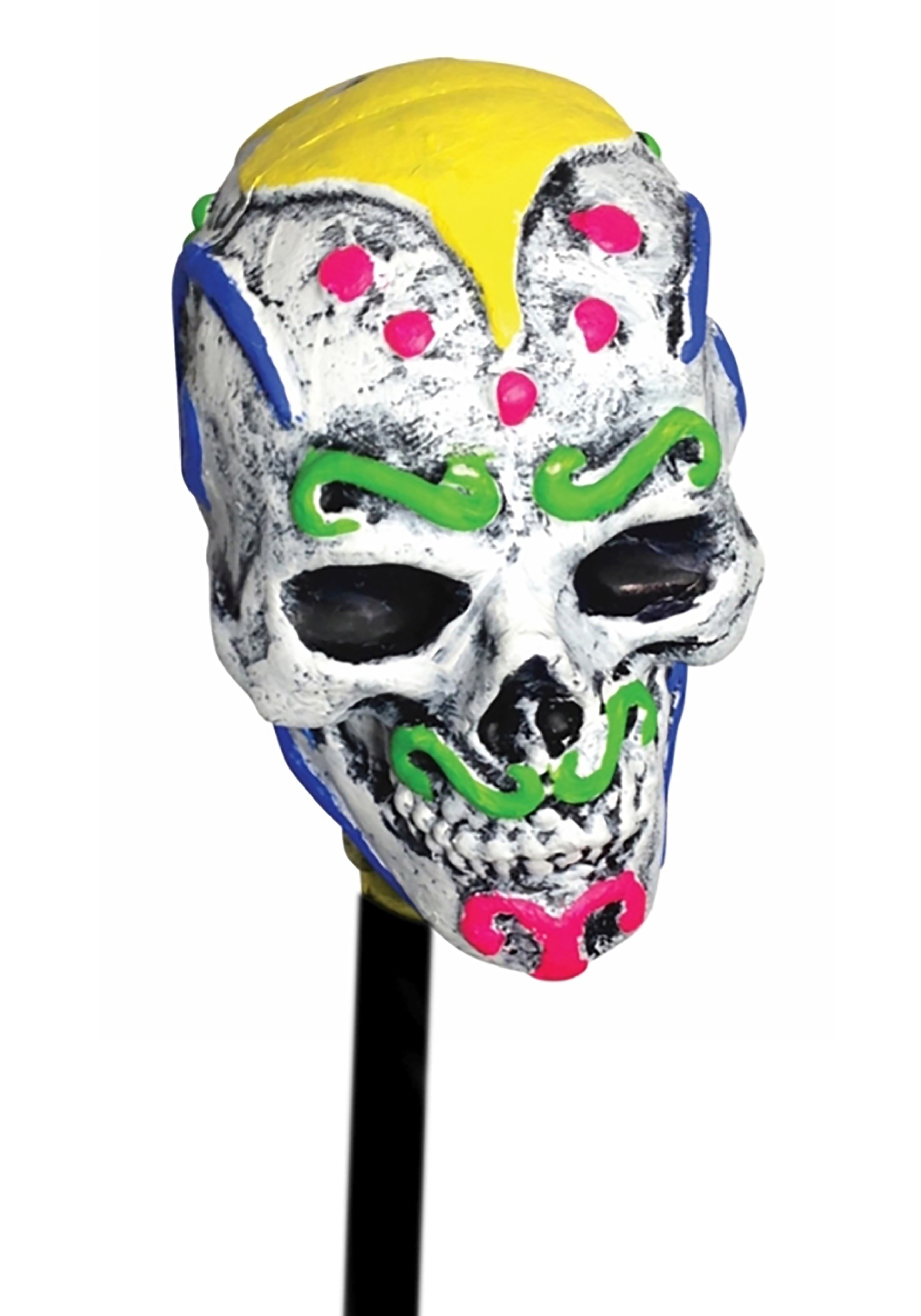 Day Of The Dead Sugar Skull Cane2