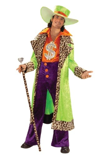 Click Here to buy Big Daddy Pimp Adult Costume from HalloweenCostumes, CDN Funds