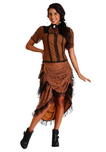 Click Here to buy Last Dance Saloon Girl Costume from HalloweenCostumes, CDN Funds