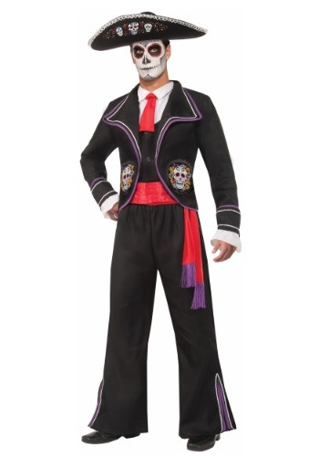Day of the Dead Macabre Costume for Men
