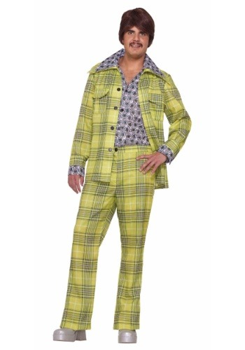 Click Here to buy Leisure Suit Plaid Mens Costume from HalloweenCostumes, CDN Funds