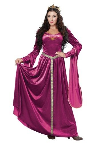 Click Here to buy Lady Guinevere Womens Costume from HalloweenCostumes, CDN Funds