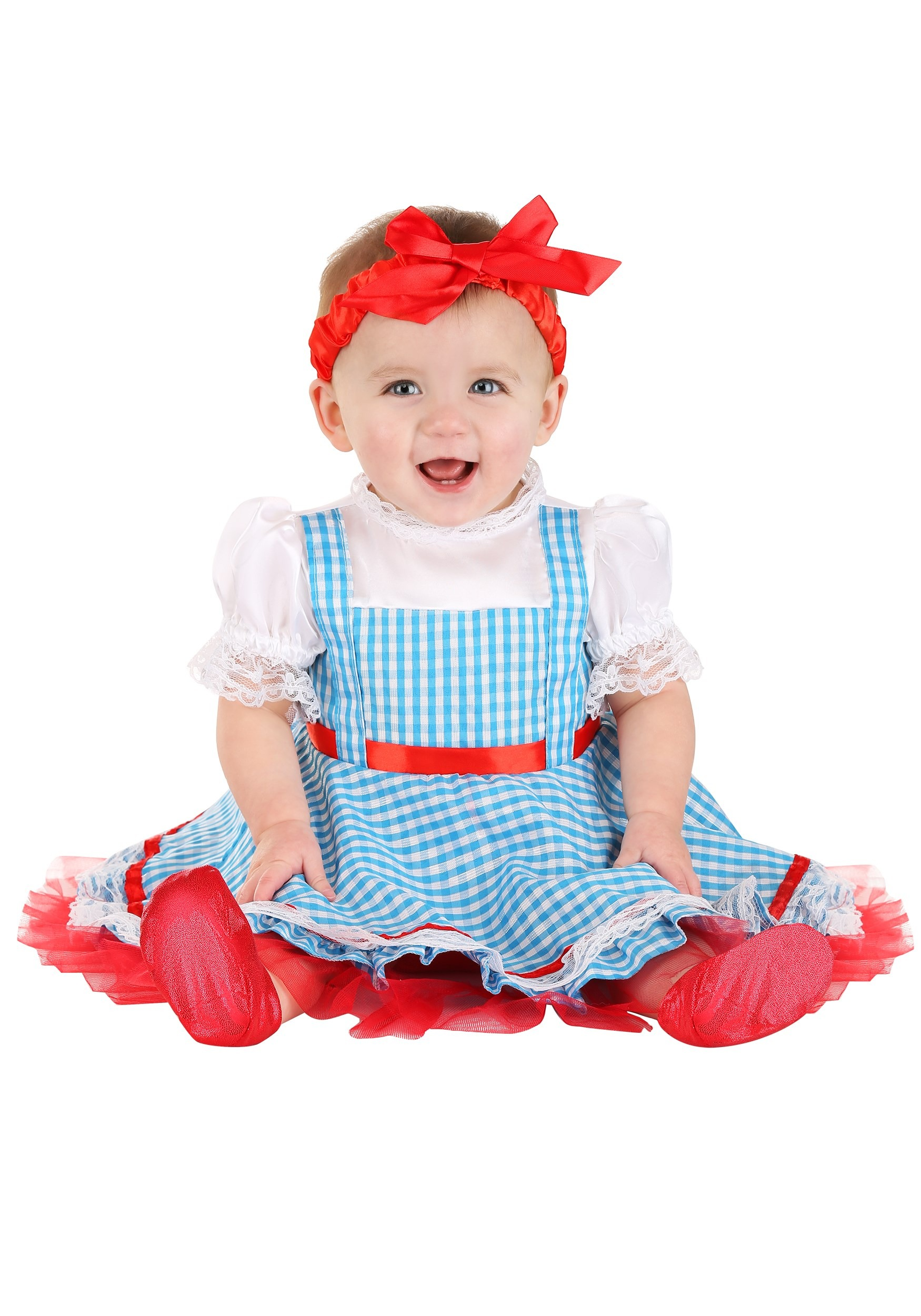 DOROTHY WIZARD OF OZ LICENSED TODDLER GIRLS CHILD FANCY DRESS HALLOWEEN COSTUME