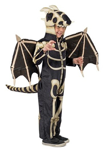 Click Here to buy Kids Skeleton Dragon Costume from HalloweenCostumes, CDN Funds