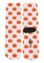 Halloween Pumpkins Adult White Crew Socks for Adults