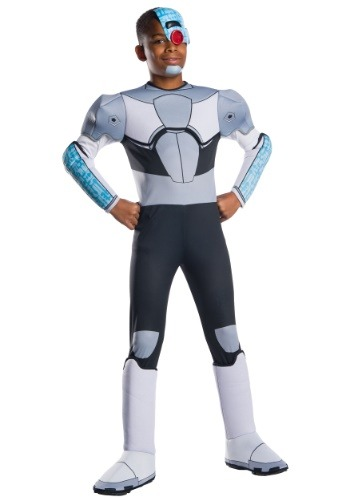 Click Here to buy Teen Titans Cyborg Costume for a Kids from HalloweenCostumes, CDN Funds