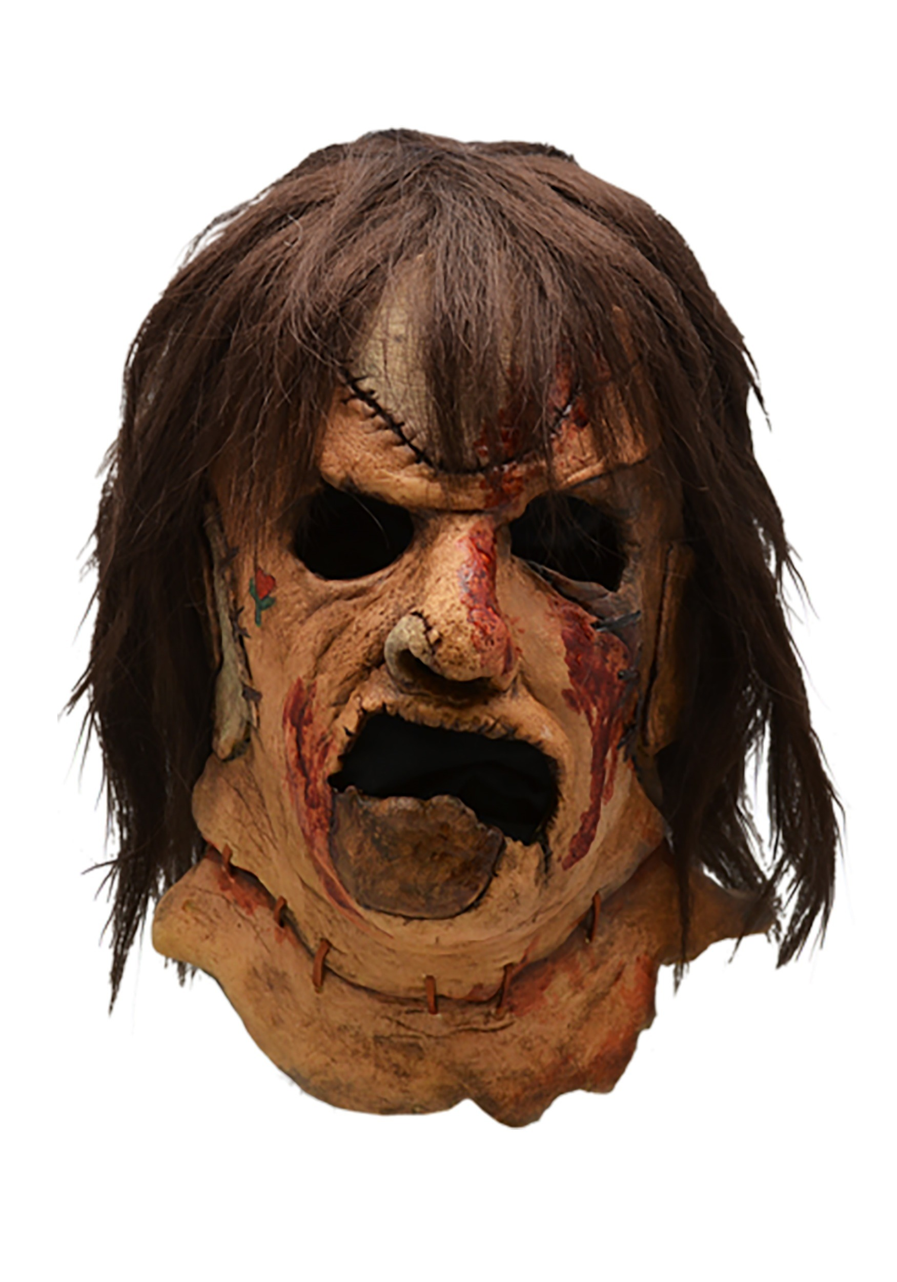 Leatherface Face Mask Texas Chainsaw Massacre 1974 Halloween Costume Accessory