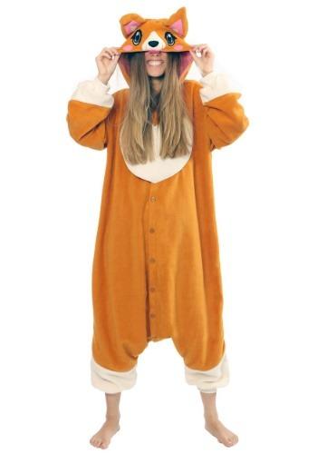 Adult Corgi Kigurumi Costume
