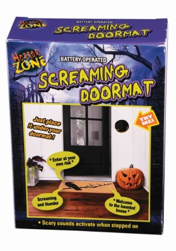 Motion Activated Screaming Doormat