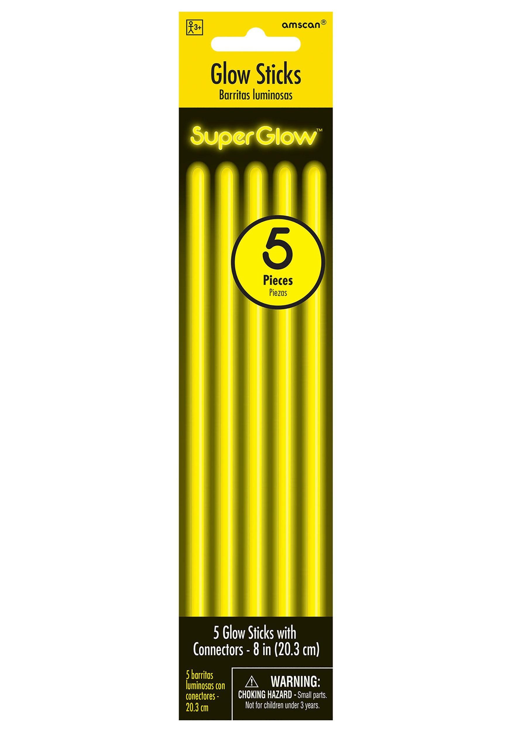 Yellow_8_Glowsticks__5_per_Pack