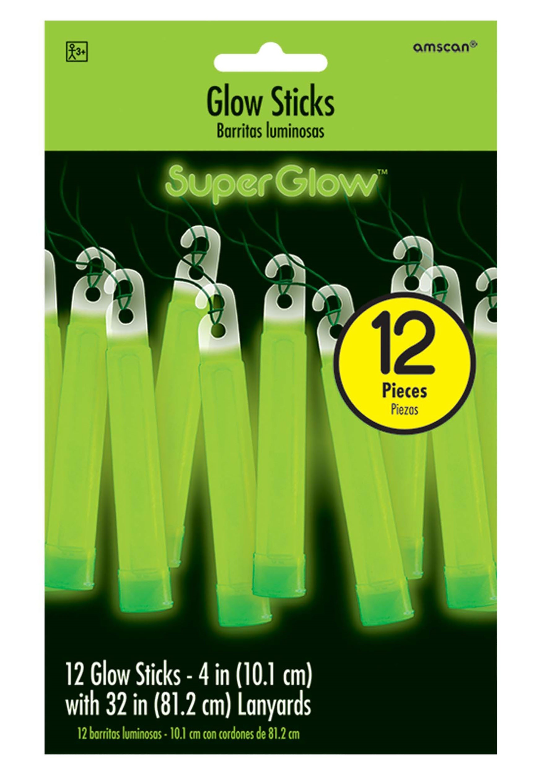 4_Inch_Green_Glowsticks_-Pack_of_12