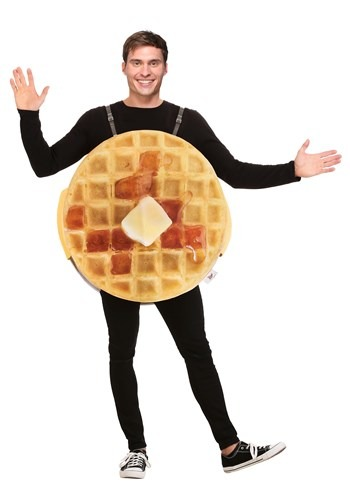Adult Eggo Waffle Costume