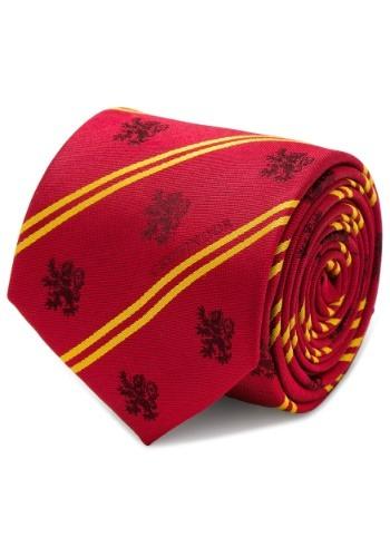 Gryffindor Pinstripe Tie - Harry Potter
