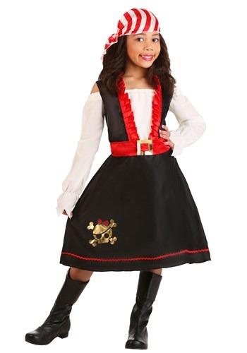 Girls Pretty Pirate Costume