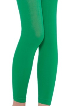 Child's Green Leggings