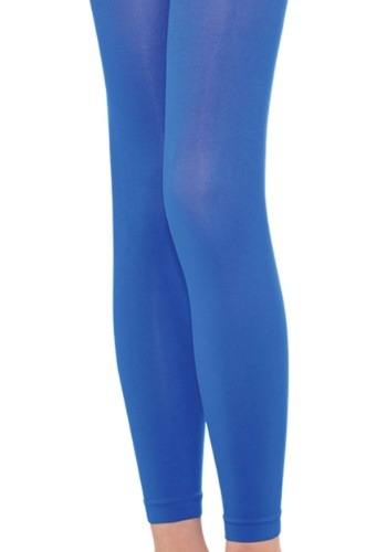 Child Blue Leggings