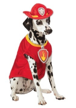 Paw Patrol Marshall The Fire Dog Pet Costume-update1