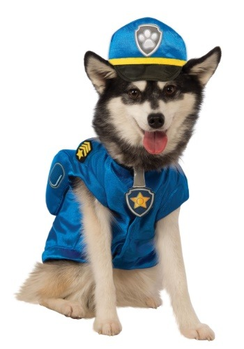 Click Here to buy Paw Patrol Chase Pet Costume from HalloweenCostumes, CDN Funds