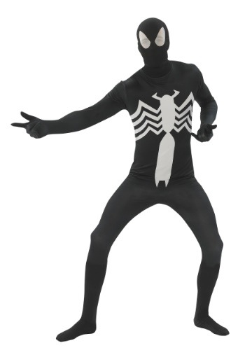Click Here to buy Black Spider-man 2nd Skin Adult Costume from HalloweenCostumes, CDN Funds