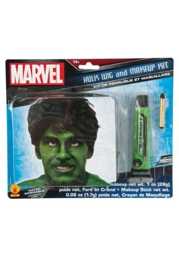 Incredible Hulk Makeup and Wig Kit