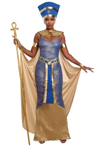 WOMEN'S NEFERTITI COSTUME - Sexy Edgy Cosplay Halloween Costumes