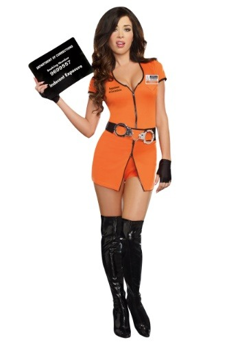 Women's Locked Up Costume