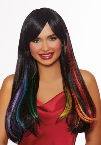Adult Hidden Rainbow Wig