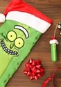 Molded Ornament Santa Hat Pickle Rick Alt 1