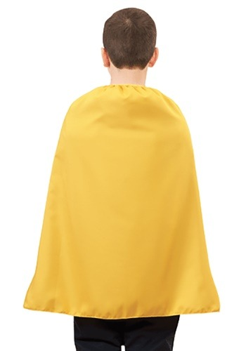 Yellow Superhero Cape for Children