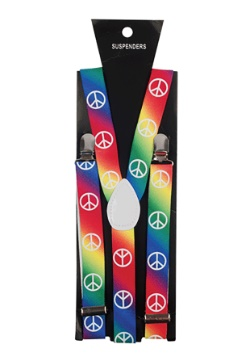 Peace Sign Suspenders